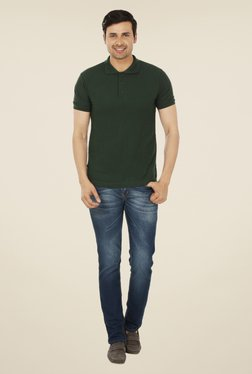 Weardo Dark Green Polo T Shirt