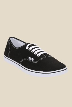 Vans Authentic Lo Pro Black & White Sneakers