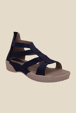 Solester Navy Casual Sandals