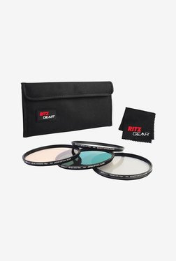 Ritz Gear 55mm Premium HD MC Super Slim Lens Filter (Black)