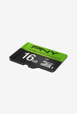 PNY Turbo Performance 16 GB Class 10 Micro SDHC Card