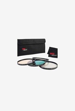 Ritz Gear 62mm Premium HD MC Super Slim Lens Filter (Black)