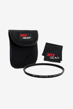 Ritz Gear 72mm Premium HD MC Super Slim Uv Filter (Black)