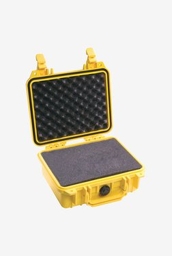 Pelican 1200 Case With Foam For Camera (Yellow)