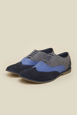 Gen X by Metro Blue & Navy Oxford Shoes