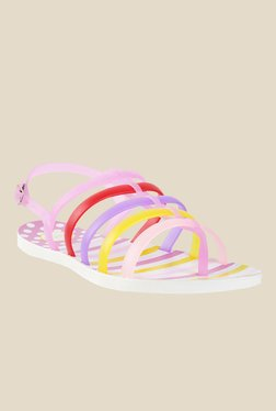 Metro Multicoloured Back Strap Sandals