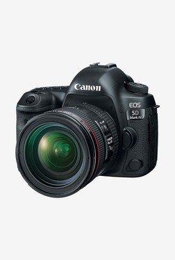 Canon EOS 5D Mark IV EF 24-70 IS USM DSLR Camera (Black)