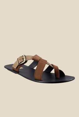 Signature by Metro Tan Slide Sandals