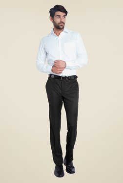 Park Avenue Black Striped Trousers
