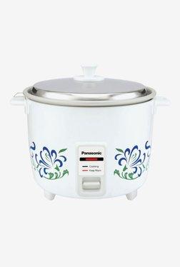 Panasonic SR-WA10H(E) 1 L Automatic Rice Cooker (White)