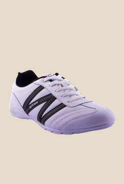 Escan White & Black Running Shoes