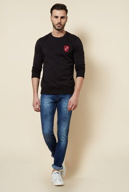 Zudio Black Solid Pullover