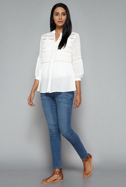 LOV by Westside Off White Reese Blouse