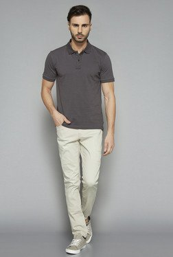 Nuon by Westside Beige Slim Fit Jeans