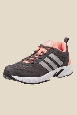 Adidas Albis 1.0 Black & Peach Running Shoes