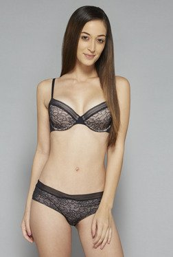 Wunderlove by Westside Black Amber T Shirt Bra