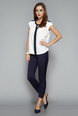 Wardrobe by Westside White Mindy Blouse