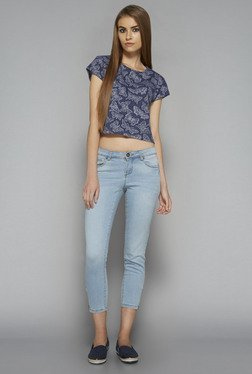 Nuon by Westside Navy Quilla Top