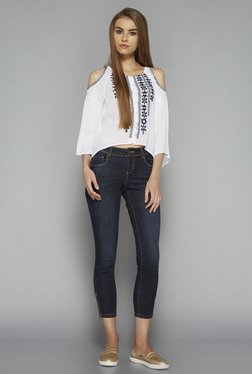 Nuon by Westside White Wonder Blouse