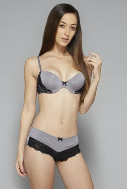 Wunderlove by Westside Grey Madison T Shirt Bra