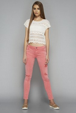 Nuon by Westside Pink Stretch Jeans