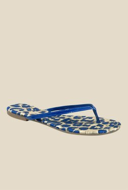 Notion Gemma Blue Thong Sandals