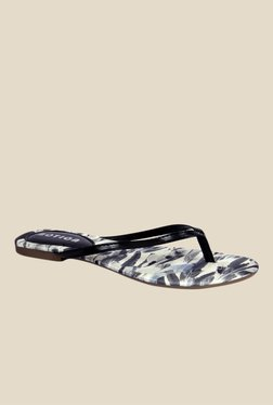 Notion Gina Black Thong Sandals