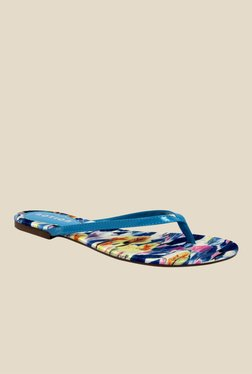 Notion Gina Blue Thong Sandals