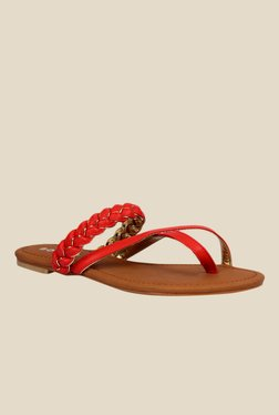 Notion Gisella Red Casual Sandals
