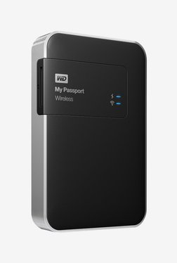 WD 1 TB My Passport Wireless External HDD (Black)
