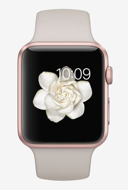 Apple MLC62LL/A 42mm Sport Watch (Rose Gold)