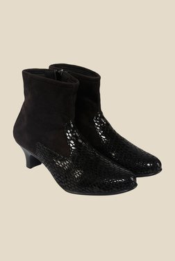 Shoe Bazar Black Casual Boots