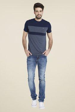 Globus Navy Chic Short Sleeve T Shirt