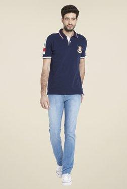 Globus Navy Short Sleeve T Shirt