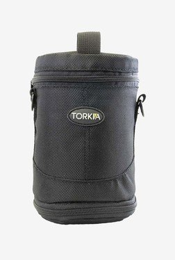 Torkia Padded Lens Case For Nikon Lenses (Black)