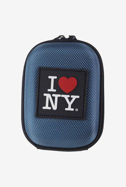 I Love NY ILNDCS45B2 Compact Hard Camera Case (Petrol Blue)