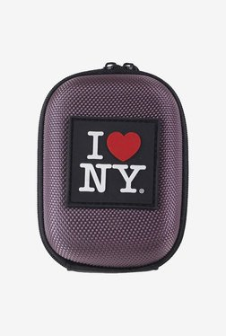 I Love NY ILNDCS45PU Compact Hard Camera Case (Purple)