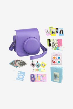Katia Beni Instax Mini 8 Instant Camera Bundles Set (Purple)