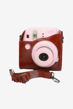Elegant international Fujifilm Instax Mini 8 Case (Brown)