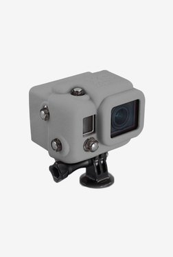 Series Hooded Silicone Cover for Gopro 3 (Grey)