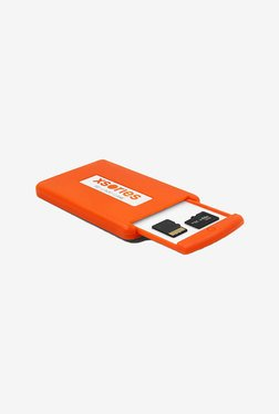 Series Grip Box SD And Micro SD Memory Card Case (Orange)