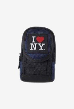 I Love NY ILNDCS100K Soft Medium Camera Case (Black/Blue)
