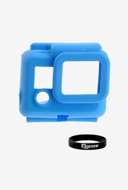 Eggsnow Silicone Rubber Case for Gopro Hero 3 (Blue)