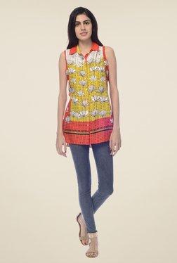 Desi Belle Multi Floral Print Shirt