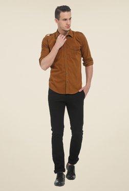 Basics Khaki Solid Shirt - Mp000000000525956