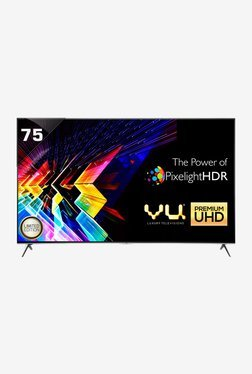 "VU H75K700 190 cm (75"") Smart Ultra HD (4K) LED TV (Black)"