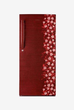 Haier HRD-2157CRI-R Single Door Refrigerator (Red Floral)