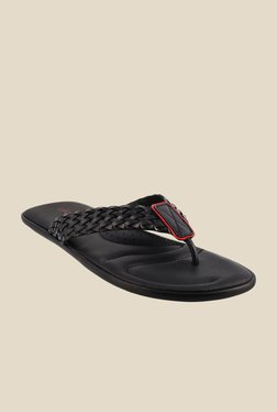 J. Fontini by Mochi Black Thong Sandals