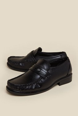 Zudio Black Penny Loafers