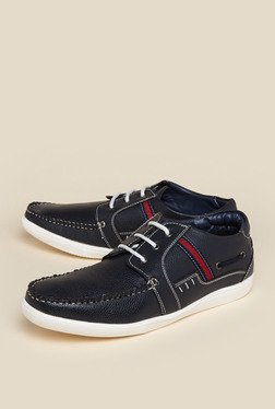 Zudio Navy Lace Up Shoes